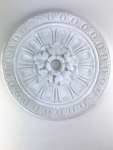 "17"" Oak Leaf Ceiling Medallion"