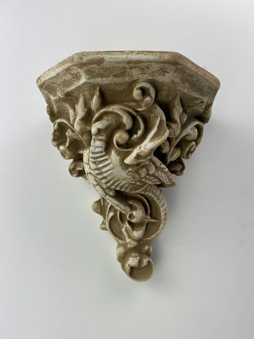 Ornate Dragon Sconce