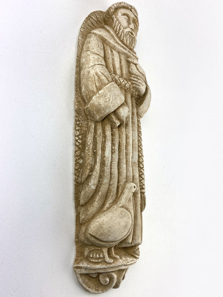 "17"" Saint Francis of Assisi Wall Statue"