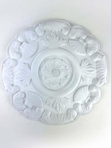 "12"" Shell Acanthus Leaf Ceiling Medallion"