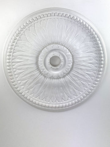 "19"" Victorian Sun Flower Ceiling Medallion"