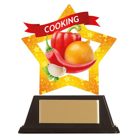 Mini-Star Cooking Acrylic Plaque AC19642
