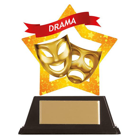 Mini-Star Drama Acrylic Plaque AC19654