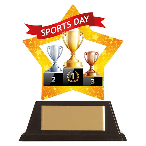 Mini-Star Sports Day Acrylic Plaque AC19691