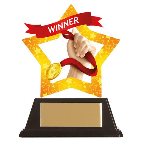 Mini-Star Winner Acrylic Plaque AC19705