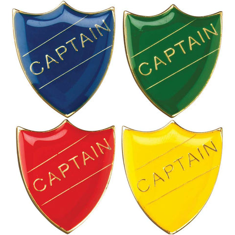 Captain School Badge