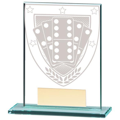 Millennium Dominoes Jade Glass Award CR20374