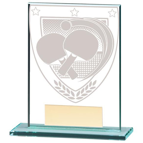 Millennium Table Tennis Jade Glass Award CR20392