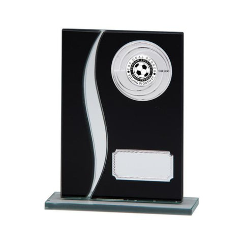 Spirit Multisport Mirror Glass Award Black & Silver CR4516