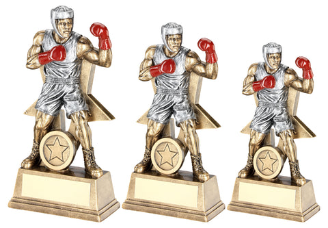 Boxing Resin Award RF170