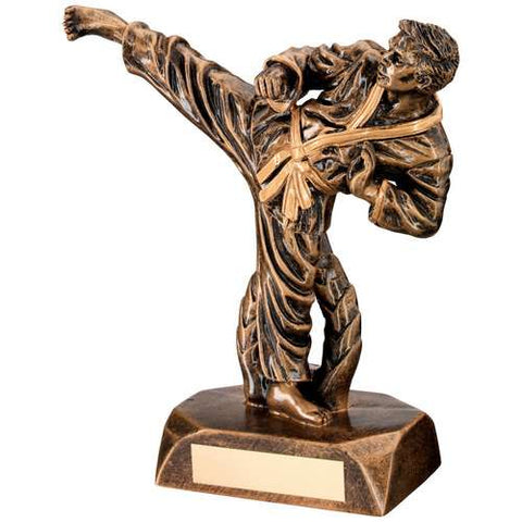 Martial Arts MALE Resin Trophy RF30
