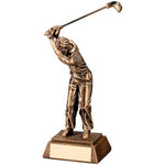 Golf Male Resin Trophy RF421
