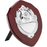 Wooden Shield Chrome Decoration (TRS4-8)