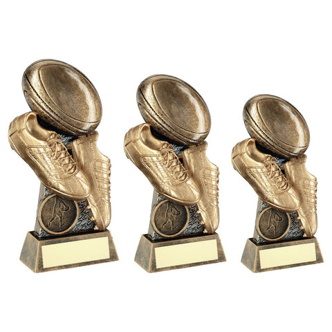Rugby Resin Trophy RF284