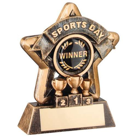 "Sports Day 3.75"" School Trophy (RF404)"