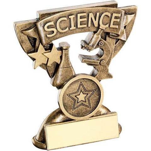 "Science 3.75"" School Trophy (RF803)"
