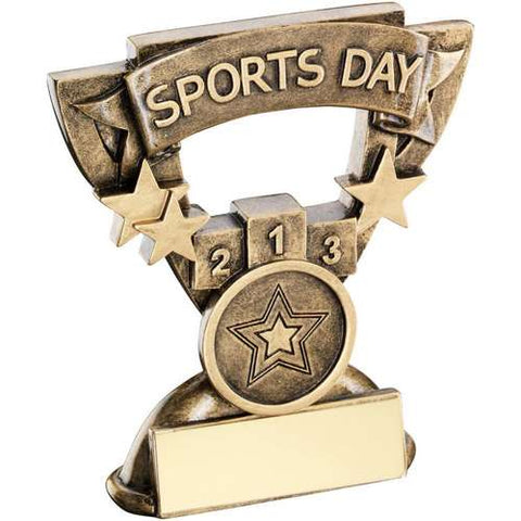 "Sports Day 3.75"" School Trophy (RF804)"