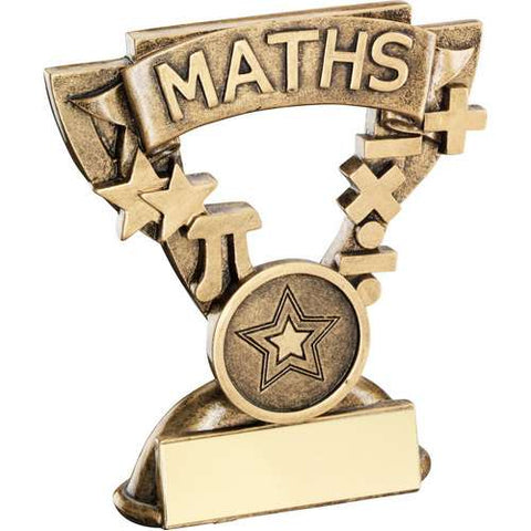 "Maths 3.75"" School Trophy (RF806)"
