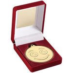 Medal Box & Smiley Face School Trophy (TY70)