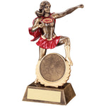 Netball FEMALE HERO Resin Trophy RF548