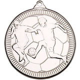 Football Players 50mm Medal & Ribbon (M40)