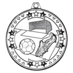 Football 50mm Medal & Ribbon (M70)