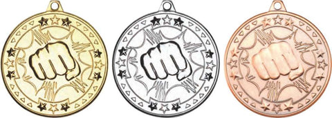 Martial Arts 50mm Medal (M74)