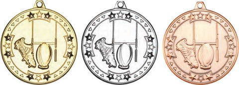 Rugby 50mm Medal (M77)