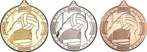 Gaelic Football Medal & Ribbon 50mm (M85)