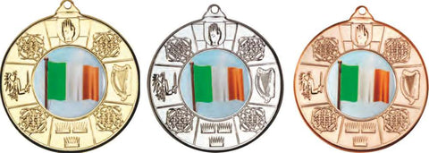 Ireland 50mm Medal & Ribbon (M87)