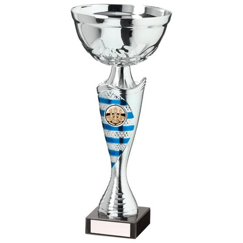 Commander Cup Silver & Blue 265mm