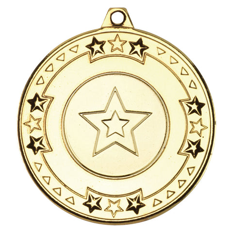 STAR Multi Sport / Generic / Dance 50mm Medal & Ribbon (M69) SALE