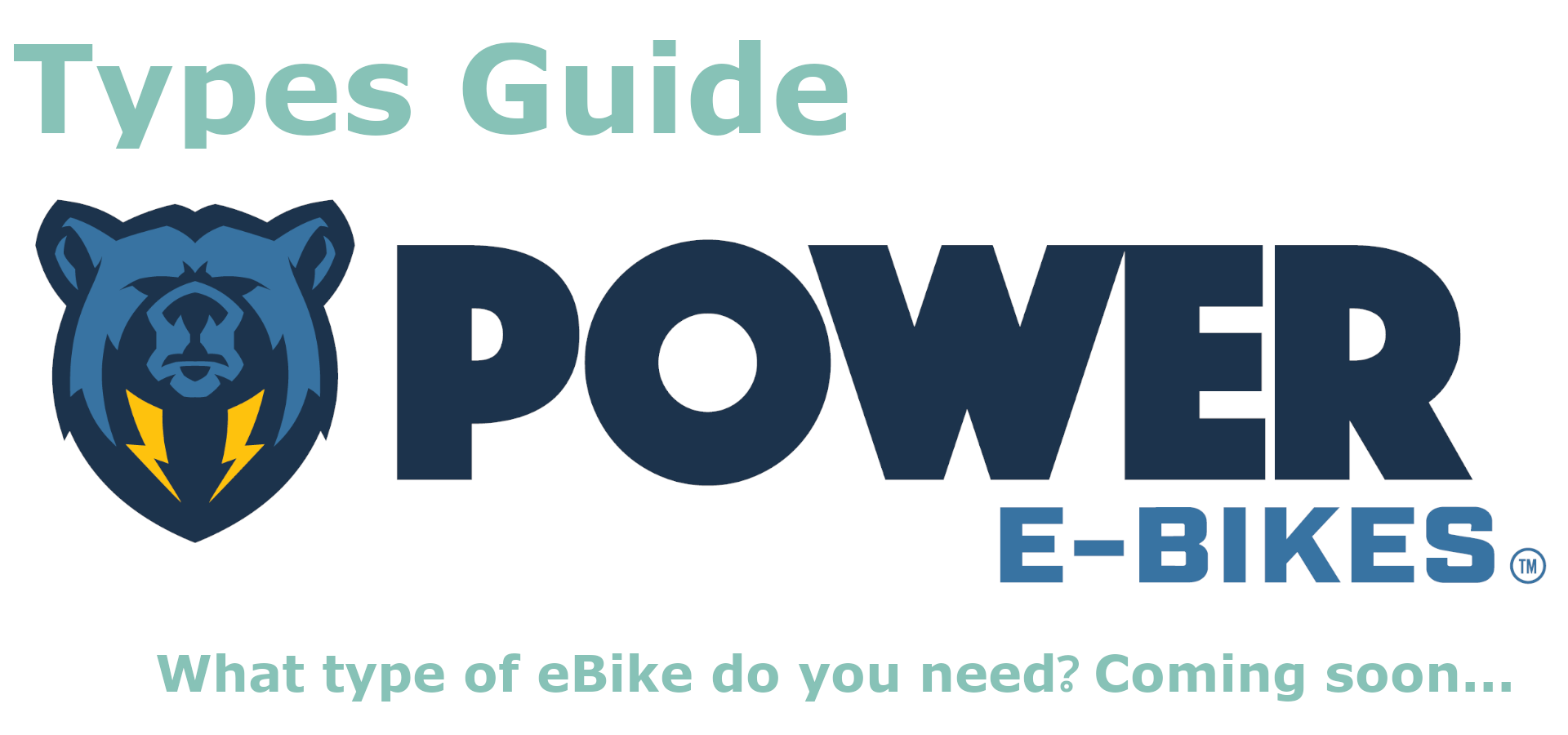 Guide to various types of eBikes coming soon