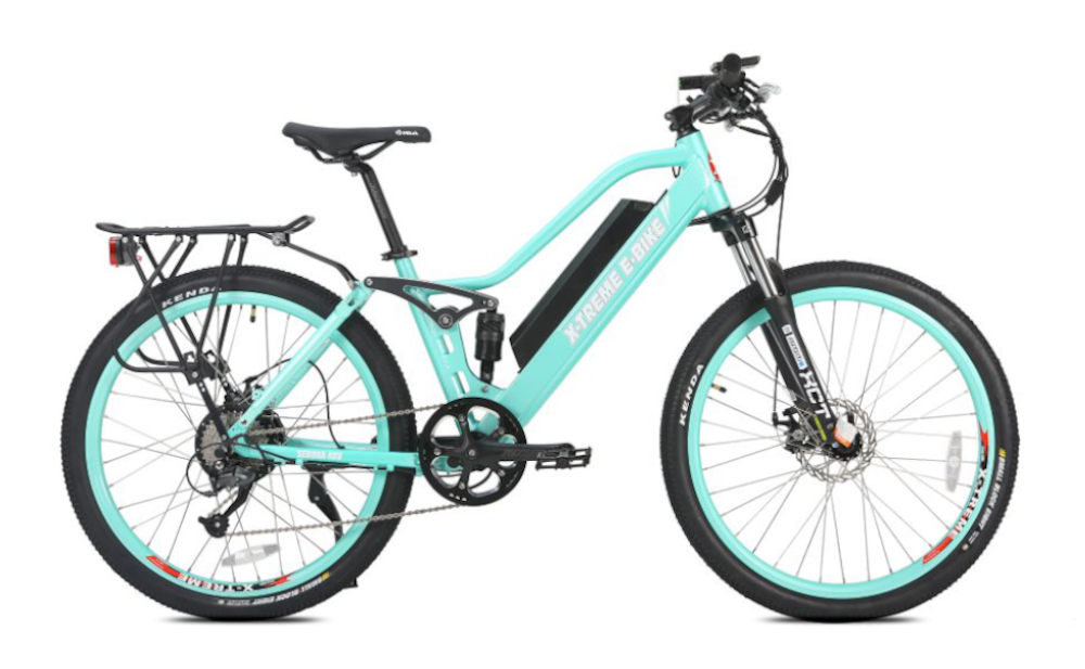 X-TREME Sedona, Step-Through Electric Mountain Bike, 500w 48v