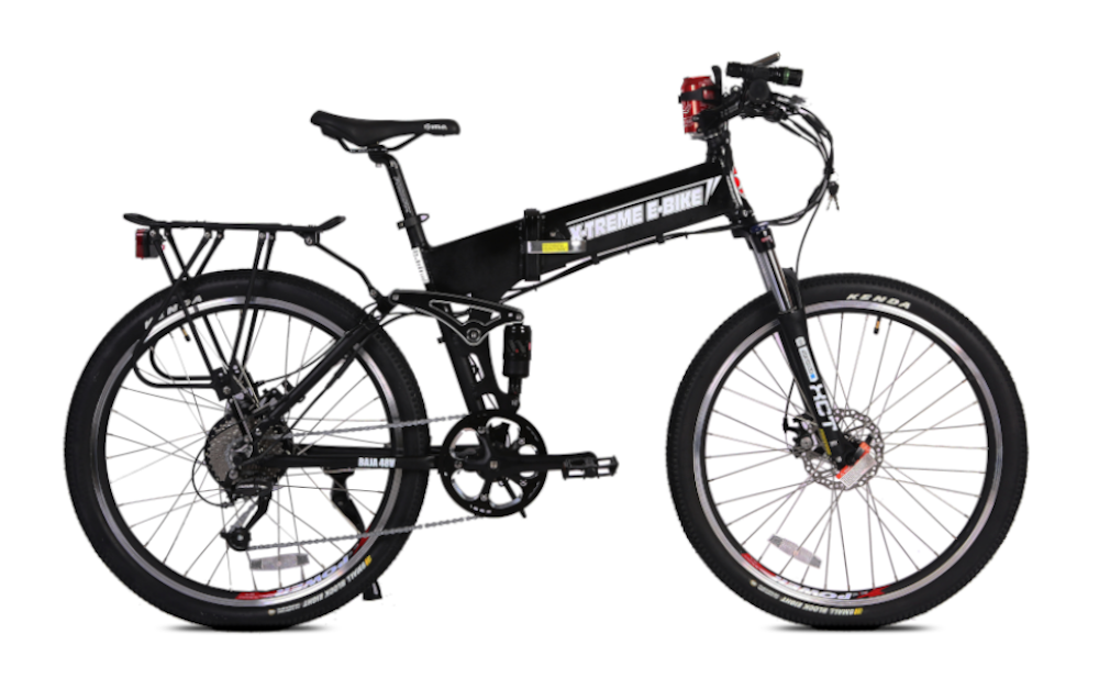 X-TREME Baja, Folding Electric Mountain Bike, 500w 48v
