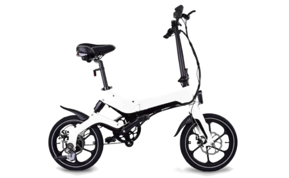 JUPITERBIKE Discovery X5, Folding Electric Bicycle, 350w 36v