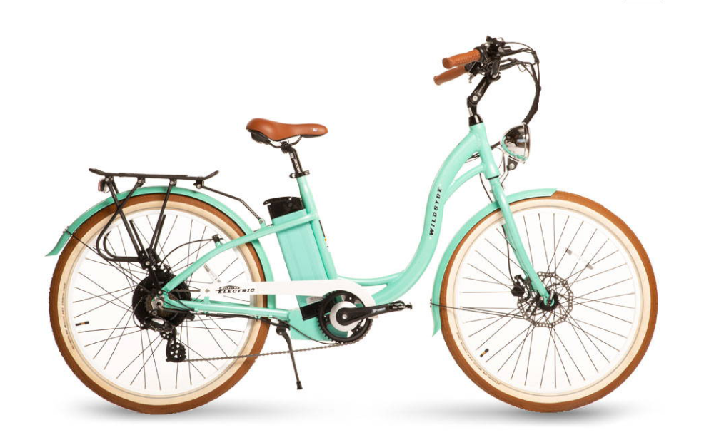 WILDSYDE Paree™ Vintage Electric Bicycle, 500w 48v