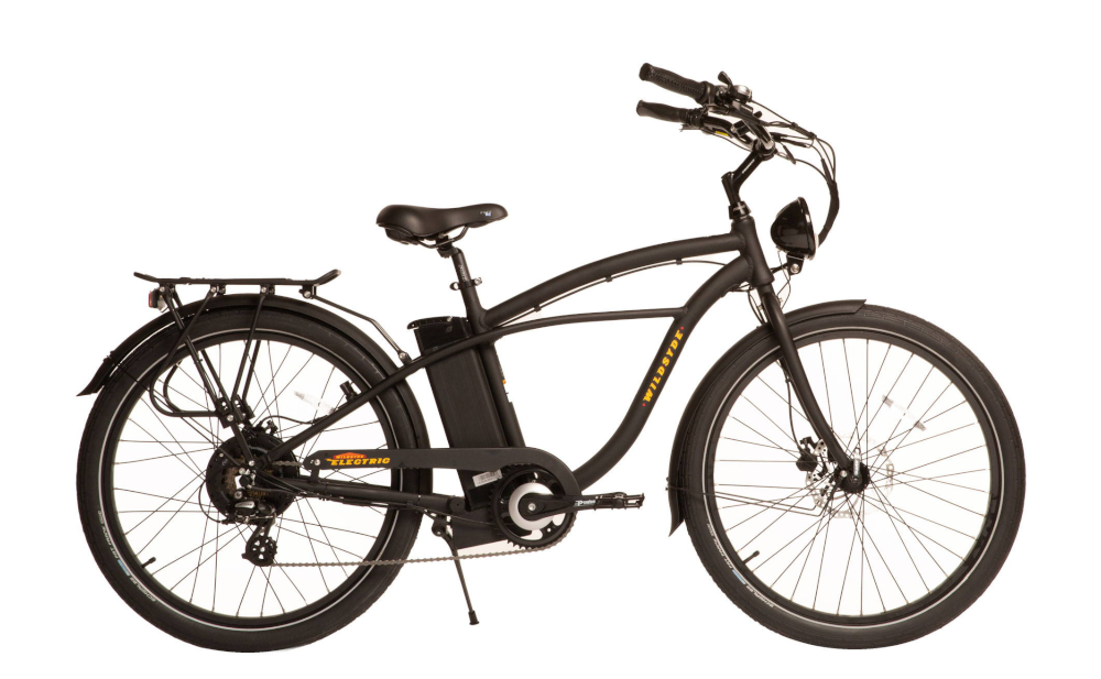 WILDSYDE Roam™ Vintage Electric Bicycle, 500w 48v