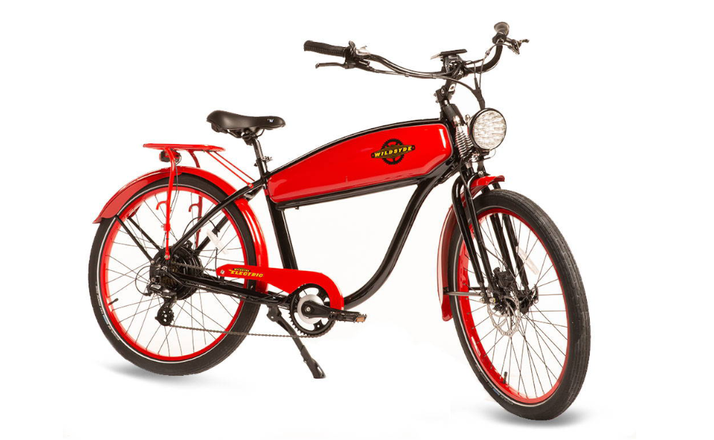 WILDSYDE Shadow Vintage Electric Bicycle, 500w 48v