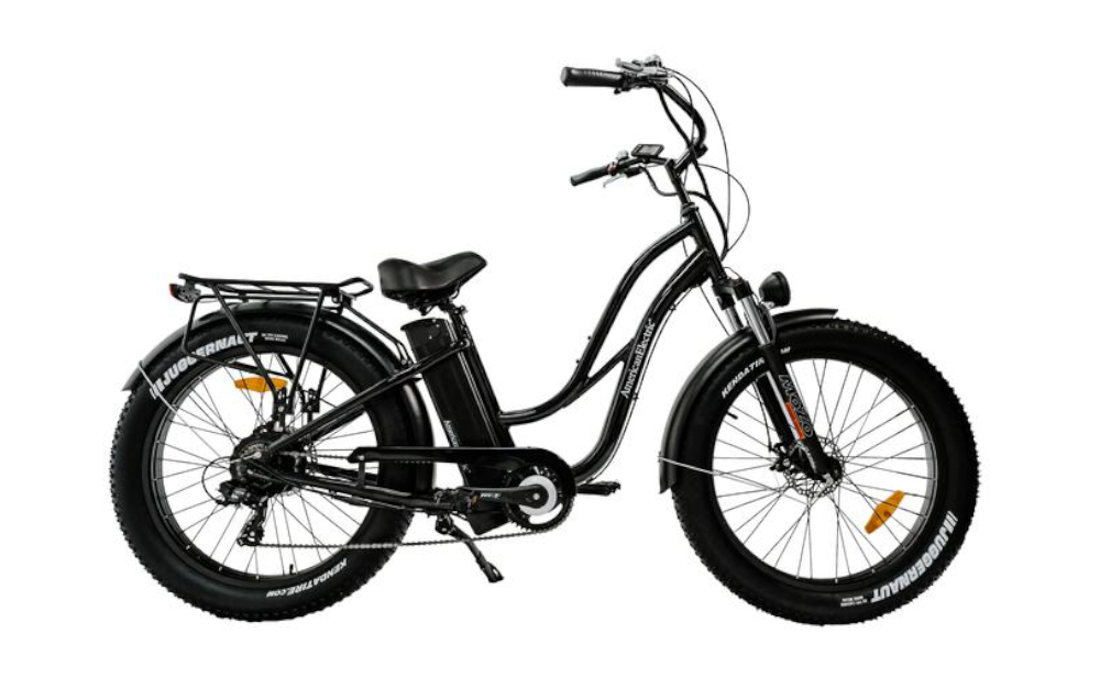 AMERICANELECTRIC Steller™ Fat-Tire Electric Bicycle, 750w 48v