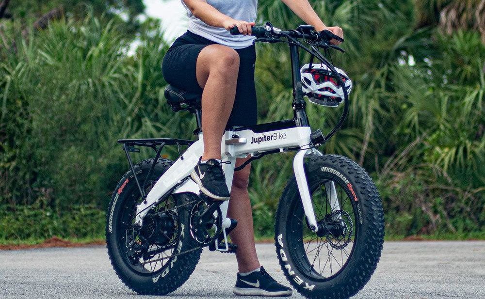 JUPITERBIKE Defiant, Folding Electric Fat Tire Bicycle, 750w 48v