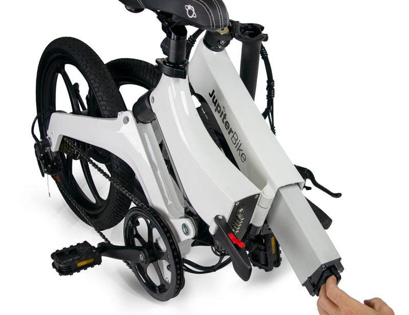 JUPITERBIKE Discovery X7, Folding Electric Bicycle, 350w 36v