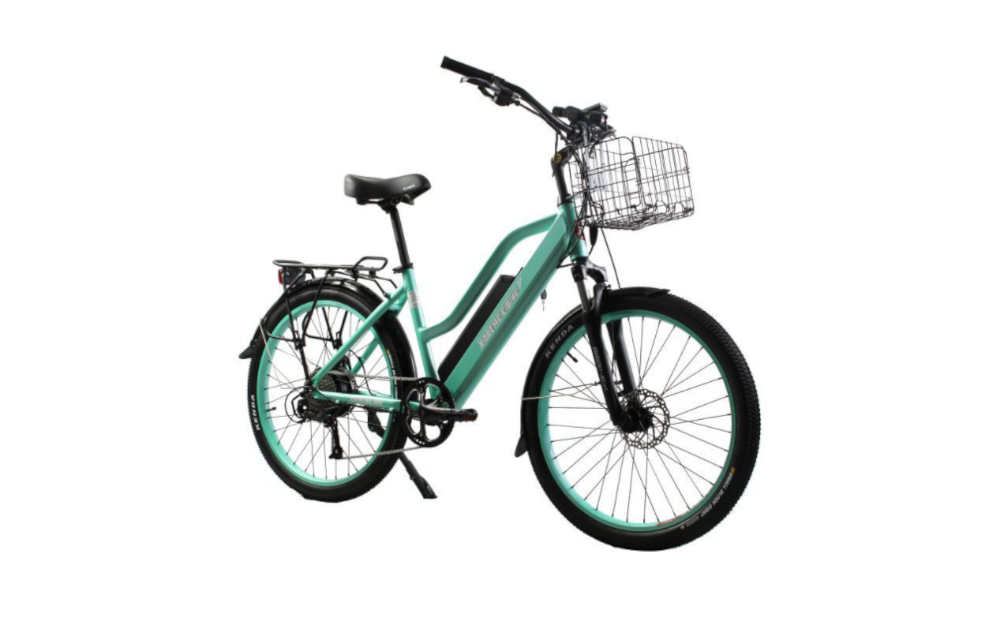 X-TREME Catalina Beach Cruiser, Step-Through Electric Bike, 500w 48v