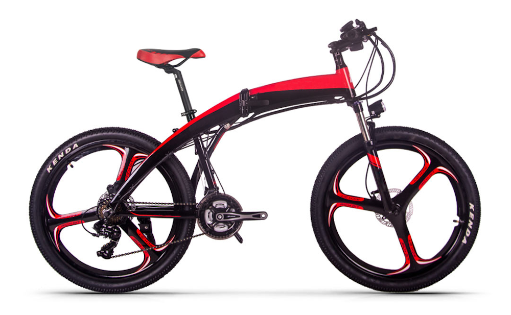 JUPITERBIKE Summit, Folding Electric Bicycle, 500w 36v