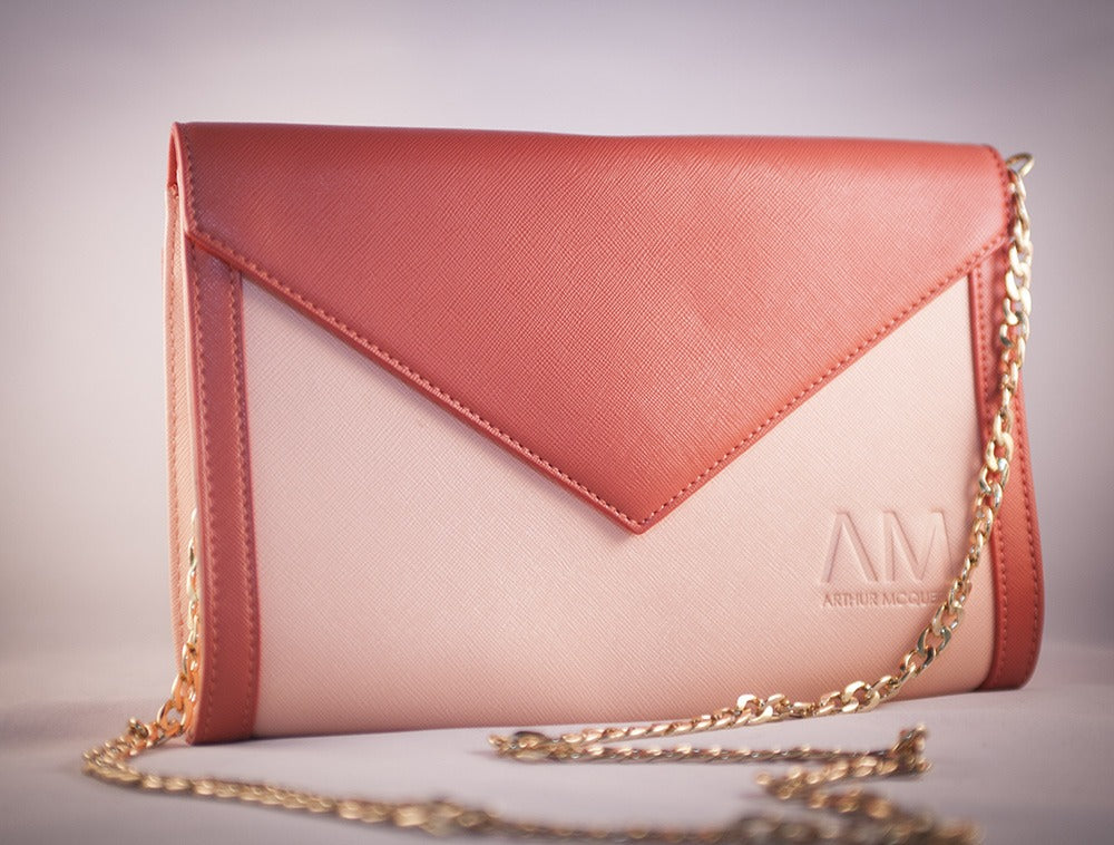 Carmen Clutch (blush pink)