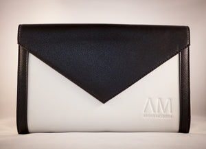 Carmen Clutch (black and white)