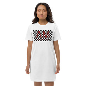 Arthur McQueen Checkerboard T-shirt Dress