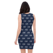 Load image into Gallery viewer, McQueen All Over Bodycon Dress