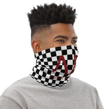 Load image into Gallery viewer, Arthur McQueen Checkerboard Neck Gaiter