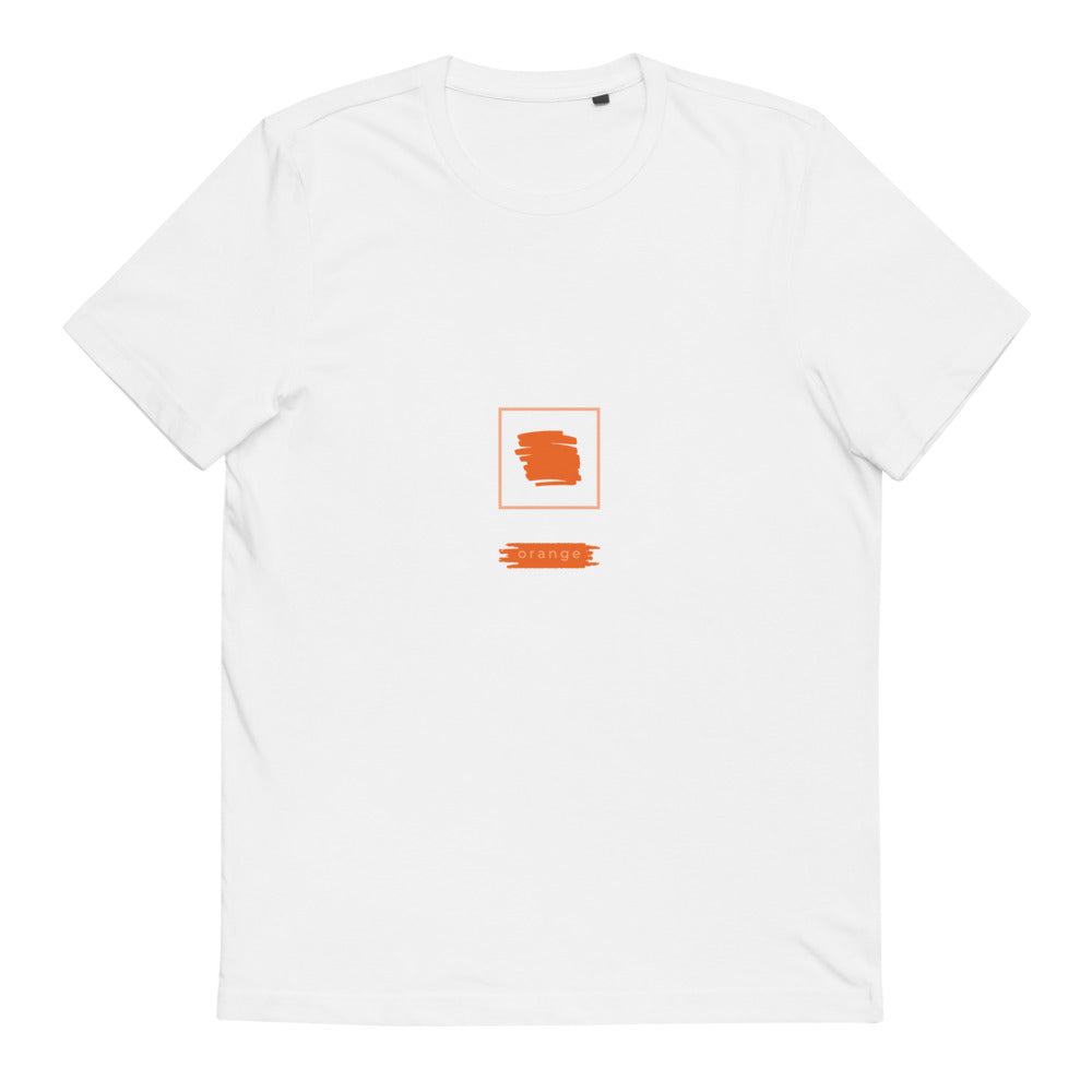 Abstract Tee Numero Tres - Orange